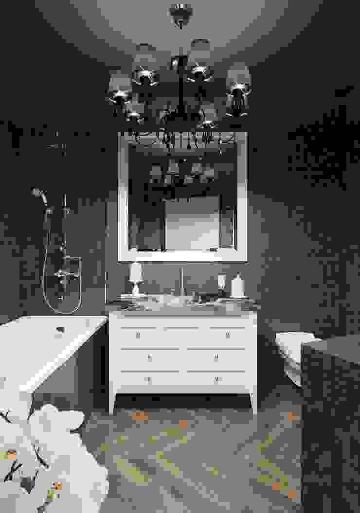 Minimalist bathroom by Студия дизайна интерьера Маши Марченко Minimalist