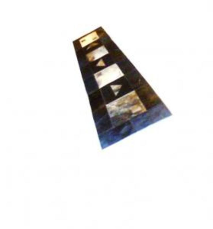 Caminos de mesa de Patchworks Rústico