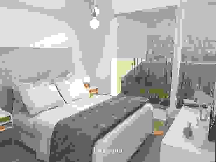Scandinavian style bedroom by Bhavana Scandinavian