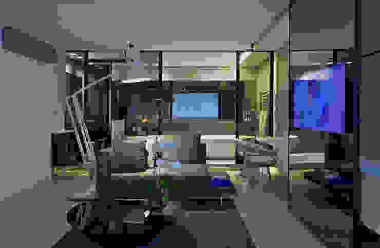 Suíte Presidencial | Mercure Vila da Serra - Belo Horizonte Hotéis modernos por Piacesi Arquitetos Moderno