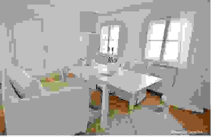 Münchner home staging Agentur GESCHKA Modern Dining Room
