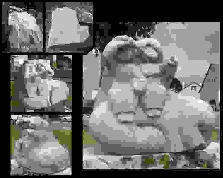 ผสมผสาน  โดย Arlequin, ผสมผสาน หิน