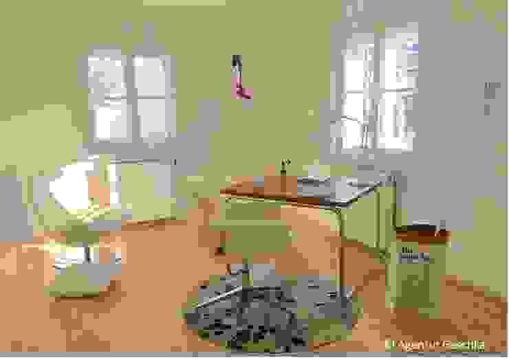 Münchner home staging Agentur GESCHKA의  서재 & 사무실, 모던