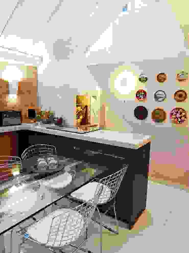 Espaço Gourmet Salas de jantar modernas por Camila Feriato Moderno