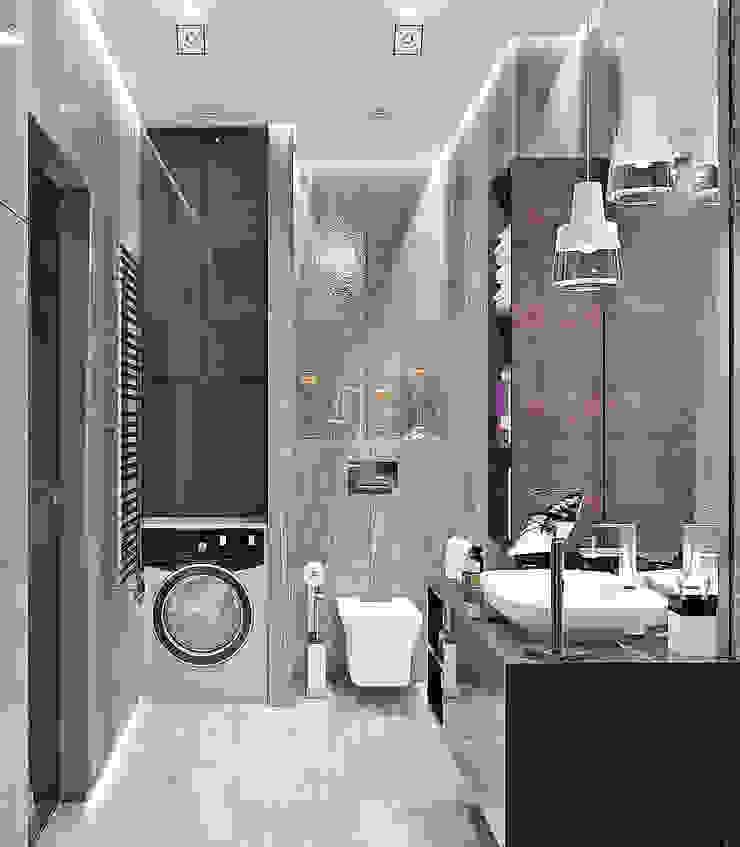 Студия дизайна ROMANIUK DESIGN Modern bathroom