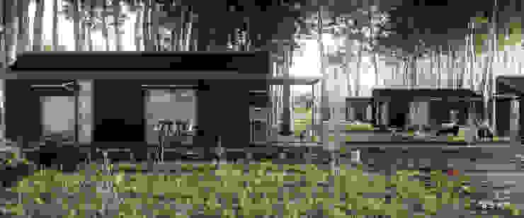 Casas prefabricadas de estilo  de BS ARQ