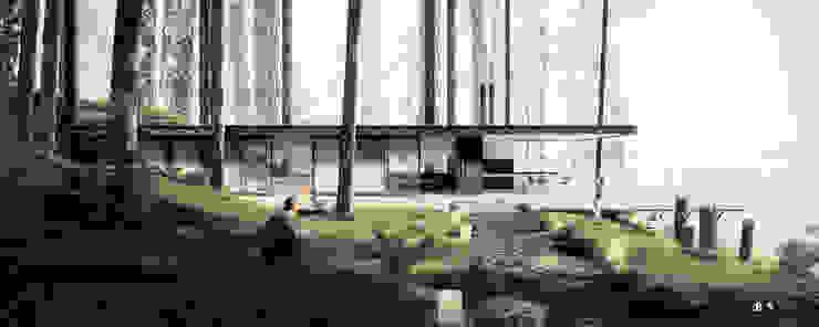 Nowoczesne domy od BS ARQ Nowoczesny Beton