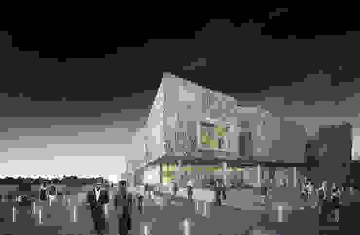Guggenheim Helsinki Competition Casas escandinavas de BS ARQ Escandinavo Ladrillos