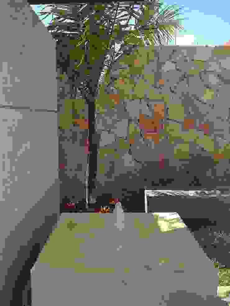PEQUEÑOS RINCONES Jardines modernos de EcoEntorno Paisajismo Urbano Moderno Piedra
