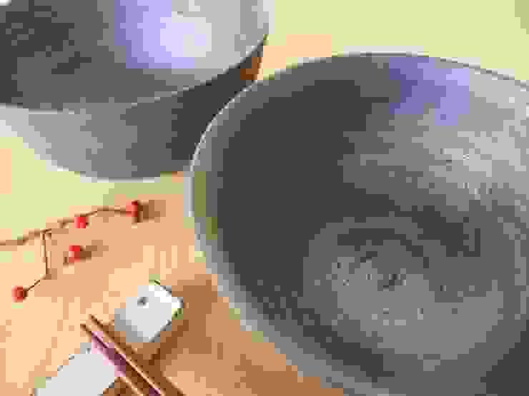 くろ碗 和風の キッチン の kamiyama-工房 和風 セラミック
