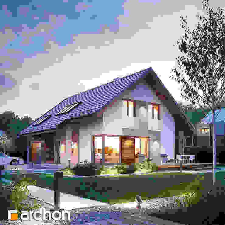 Projekt: Dom w wisteriach od ARCHON+ PROJEKTY DOMÓW