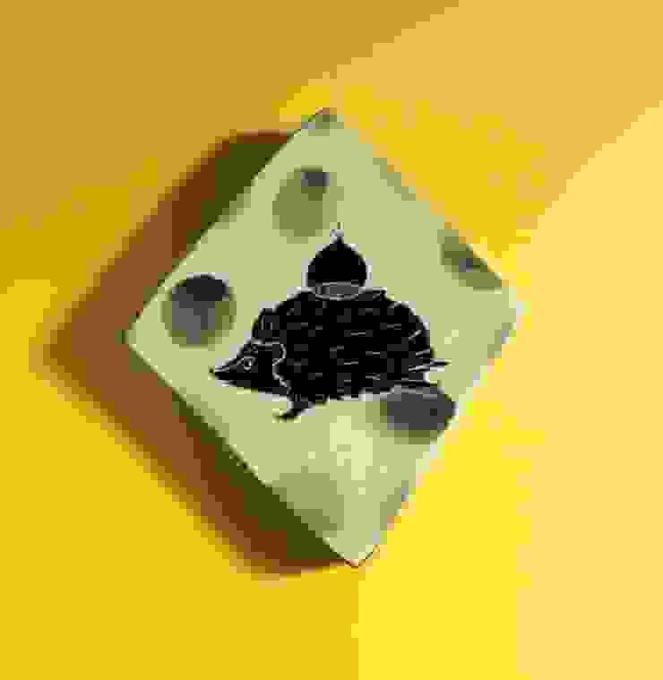 陶板: KANAME KO-BOが手掛けた現代のです。,モダン 磁器