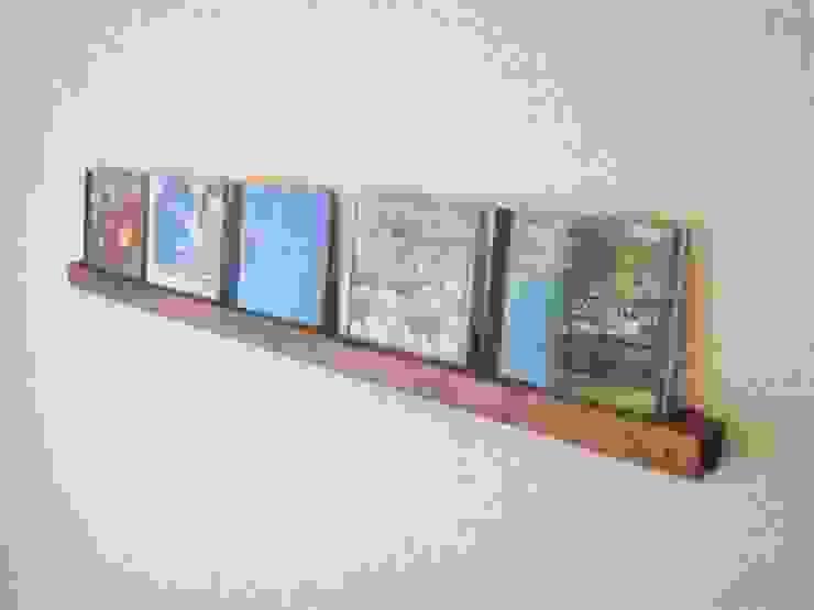木の壁掛けCDラック: 作房和樂(サボウワラク)が手掛けた折衷的なです。,オリジナル