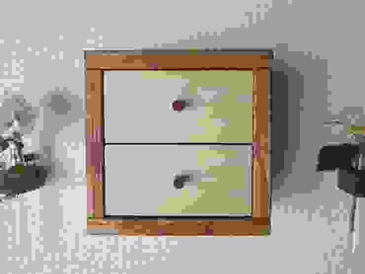 木の壁掛け小引出し: 作房和樂(サボウワラク)が手掛けた折衷的なです。,オリジナル