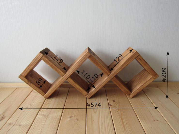 トイレラック-A: 作房和樂(サボウワラク)が手掛けた折衷的なです。,オリジナル