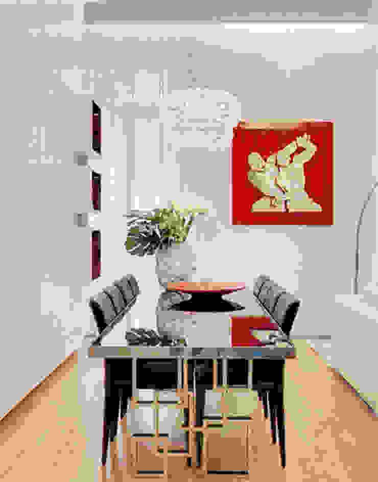 APARTAMENTO AVENIDA Salas de jantar modernas por Artica by CSS Moderno