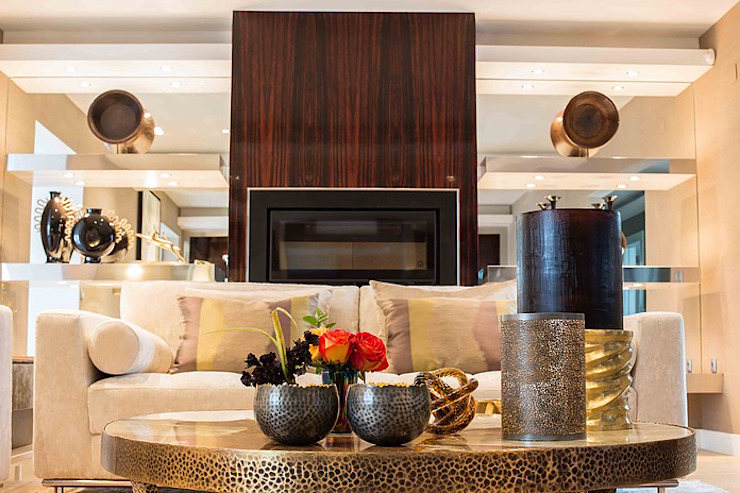 Modern living room by Artica by CSS Modern