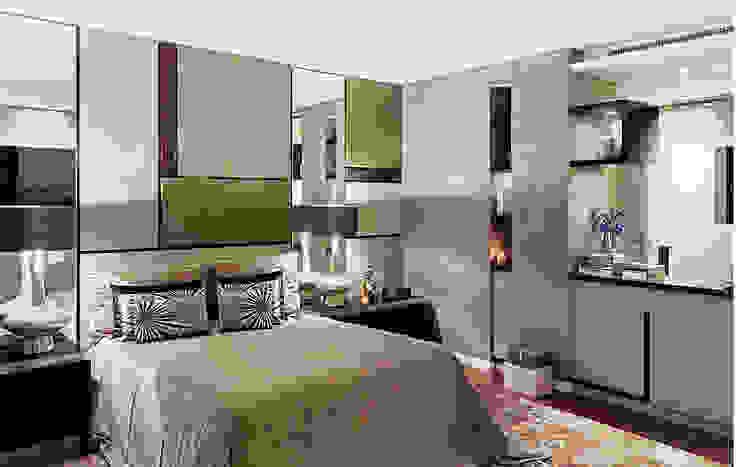Dormitorios de estilo moderno de Artica by CSS Moderno