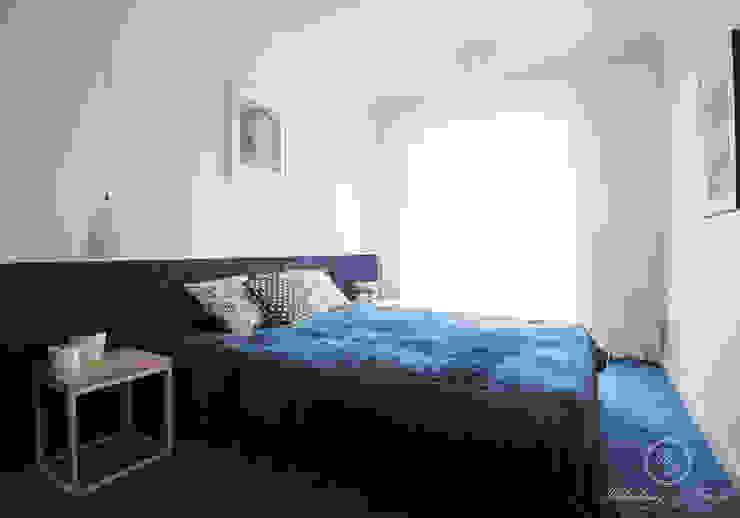 NAVY: styl , w kategorii Sypialnia zaprojektowany przez Kołodziej & Szmyt Projektowanie wnętrz,Eklektyczny