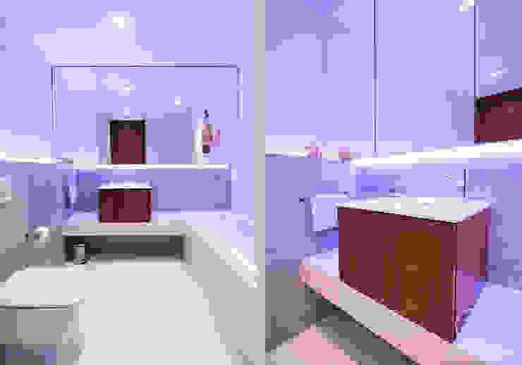 NAVY: styl , w kategorii Łazienka zaprojektowany przez Kołodziej & Szmyt Projektowanie wnętrz,Eklektyczny