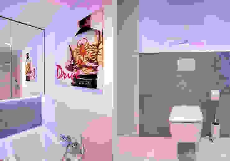Bathroom by Kołodziej & Szmyt Projektowanie wnętrz