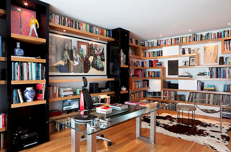 Modern Study Room and Home Office by Artica by CSS Modern
