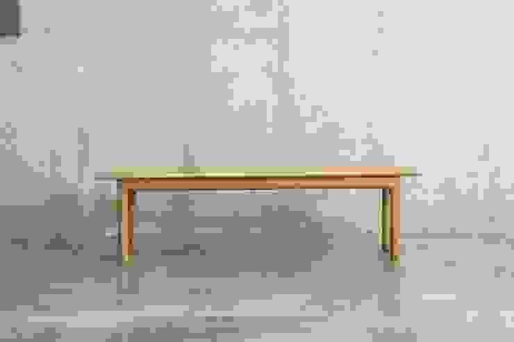 벤치 / pipe bench: JEONG JAE WON Furniture 정재원 가구의 현대 ,모던