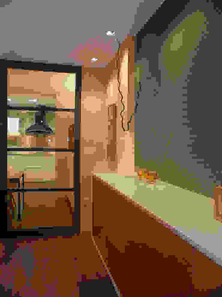 Scandinavian style dining room by AZ Diseño Scandinavian