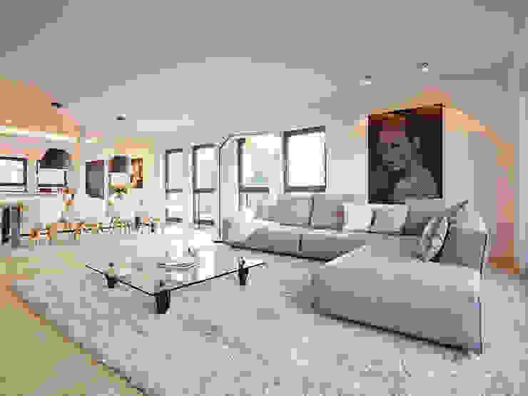 Salones de estilo moderno de HONEYandSPICE innenarchitektur + design Moderno