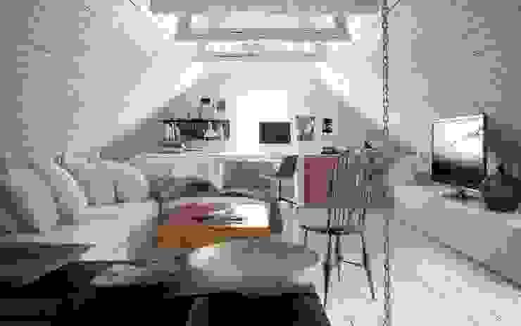 Modern Living Room by L'Atelier 2630 Modern