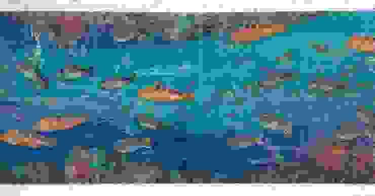 Deniz Dibi Çalışması Örnek Akdeniz Duvar & Zemin Camdal Akdeniz