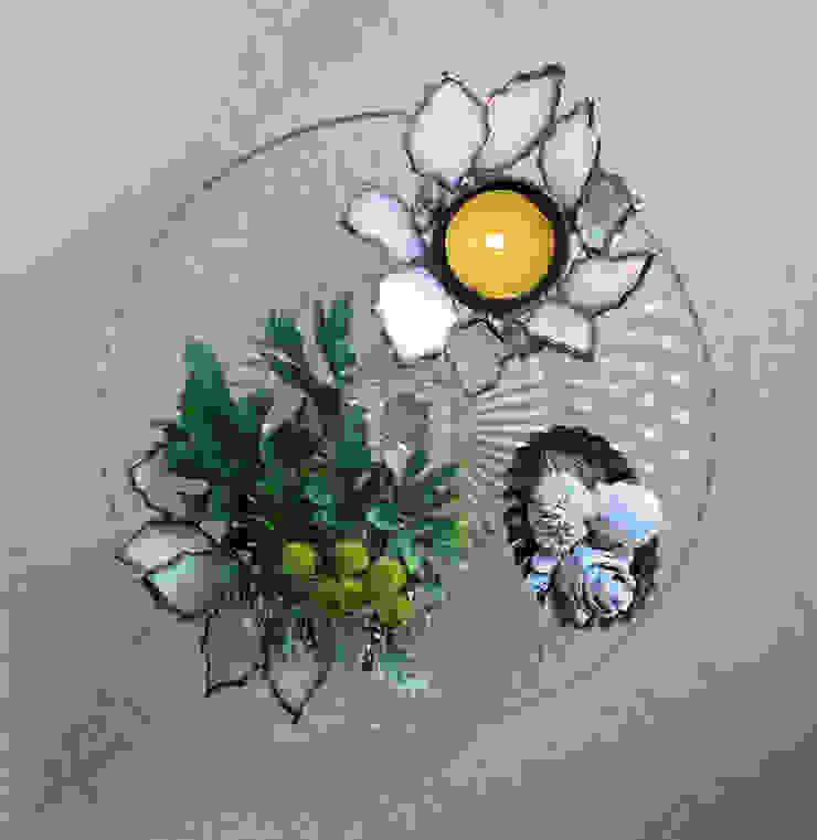 冬の野花シリーズ: elementaが手掛けたクラシックです。,クラシック ガラス