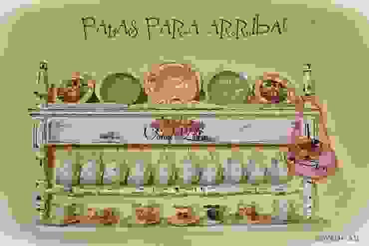 Ideas creativas para muebles tradicionales:  de estilo  por Capítulo Dos,Rústico Madera maciza Multicolor