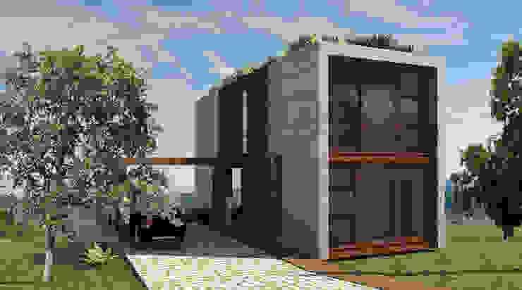 Chalets Design Casas campestres por Atelier O'Reilly Architecture & Partners Campestre Tijolo