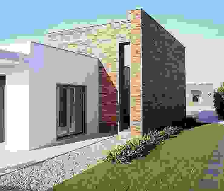 MORADIA SARILHOS GRANDES Casas modernas por Artica by CSS Moderno