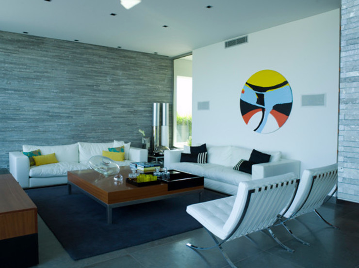 MORADIA TRÓIA Salas de estar modernas por Artica by CSS Moderno