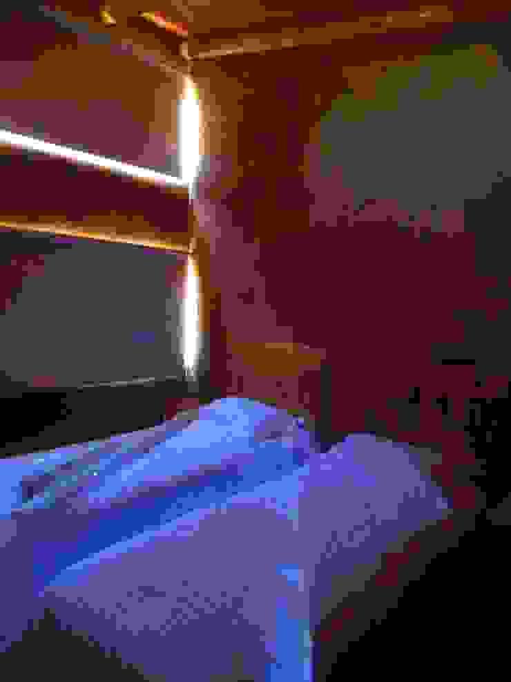 CASA AZZOTI Dormitorios infantiles rurales de bioma arquitectos asociados Rural Arenisca