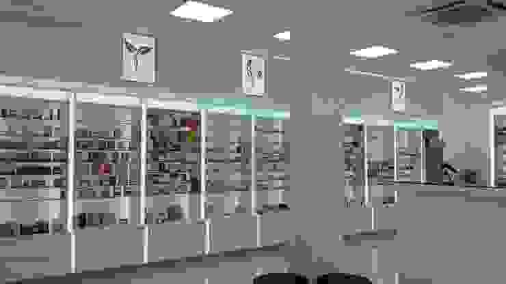Eczane Modern Hastaneler DESIGN HUB INTERIORS by CISE MISIRLISOY Modern
