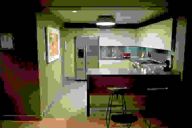 Departamento en Polanco I Cocinas eclécticas de MAAD arquitectura y diseño Ecléctico
