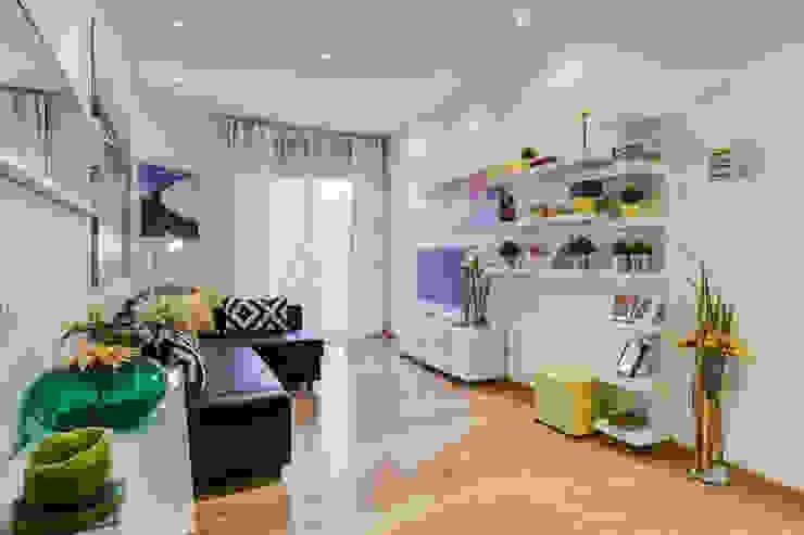 غرفة المعيشة تنفيذ Luca Tranquilli - Fotografo,