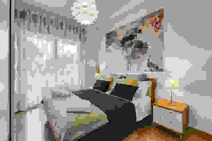 غرفة نوم تنفيذ Luca Tranquilli - Fotografo,