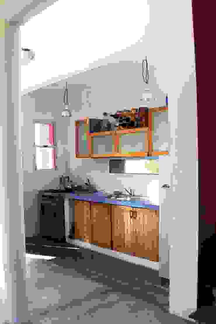 現代廚房設計點子、靈感&圖片 根據 AyC Arquitectura 現代風