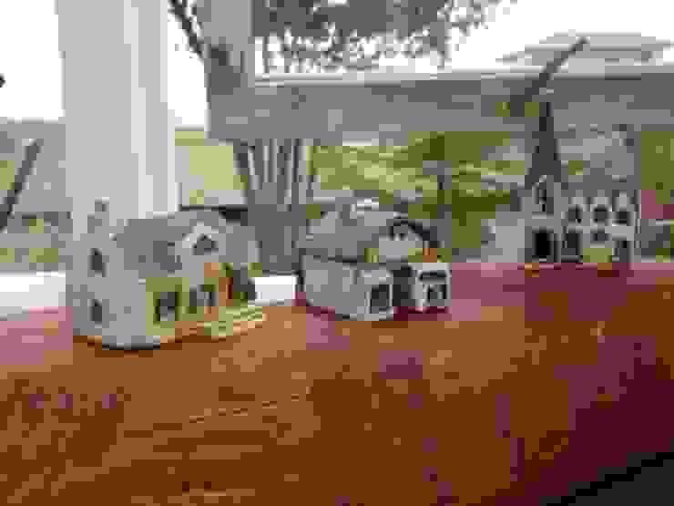 小さなオウチ照明   off: 土の家が手掛けたコロニアルです。,コロニアル セラミック