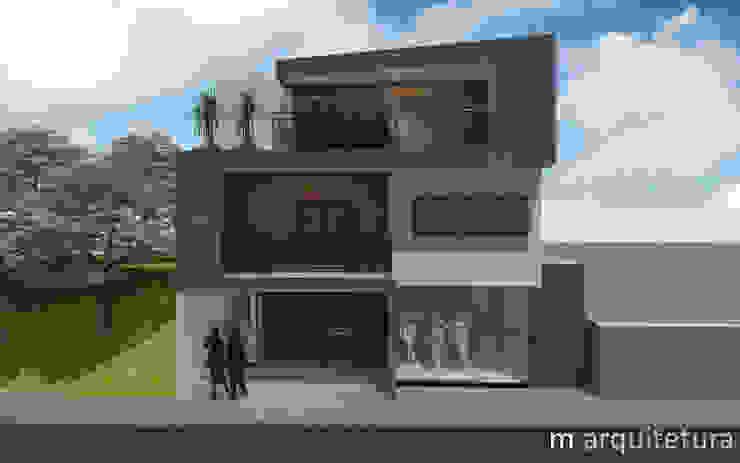 Modern houses by M Arquitetura Modern
