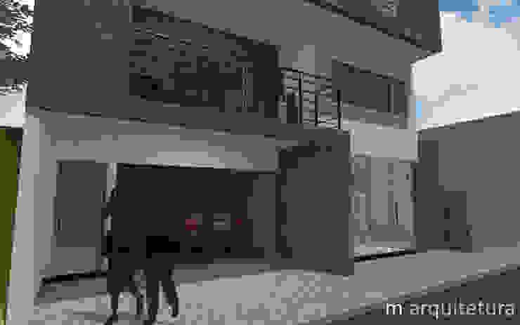 Maisons modernes par M Arquitetura Moderne