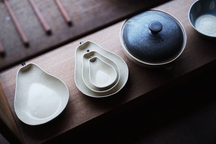 苔色工房 Dining roomCrockery & glassware
