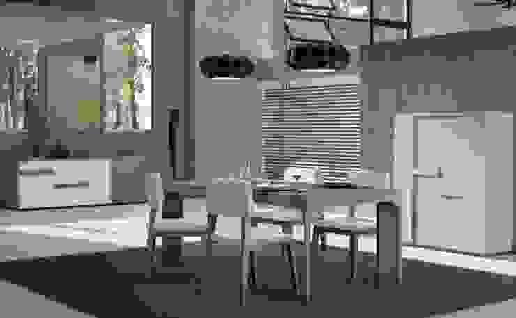 Salas de jantar Dining rooms por Intense mobiliário e interiores; Moderno