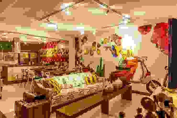 Projeto GS-FSA: Casas  por EdVasco Decorações,Tropical
