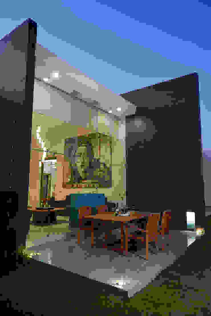 deck Casas minimalistas de arketipo-taller de arquitectura Minimalista