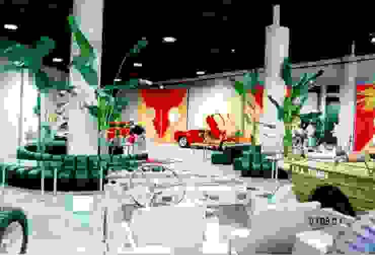 インテリア: 株式会社 t2・アーキテクトデザイン 一級建築士事務所が手掛けた折衷的なです。,オリジナル 革 灰色